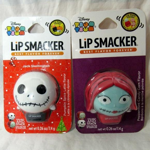 Lip Smacker Other - Tsum Tsum Disney Lip Smacker Jack and Sally